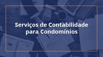 Serviços de Contabilidade para condomínios